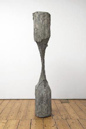 Clessidra DA (Hourglass) 2015 bronze 161 x 28 x 28 cm