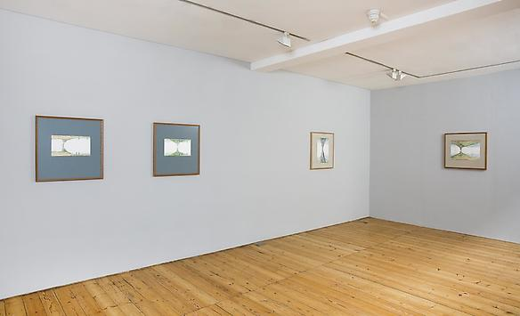 two mountains exhibition view, 2013 sprovieri, london