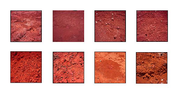 brazil #1, #2, #3, #4, #5, #6, #7, #8 2013 ilfochrome print 50 x 50 cm each