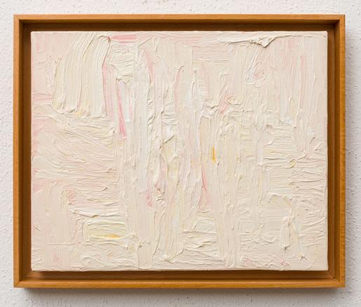 Paintings 2017, #17, (casa queimada) 2017 oil on canvas 33 x 41 cm