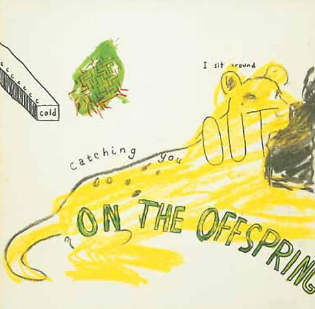 GEORGE SCHNEEMAN and BILL BERKSON On the Offspring c.1969 mixed media on illustration board 12 x 12 inches