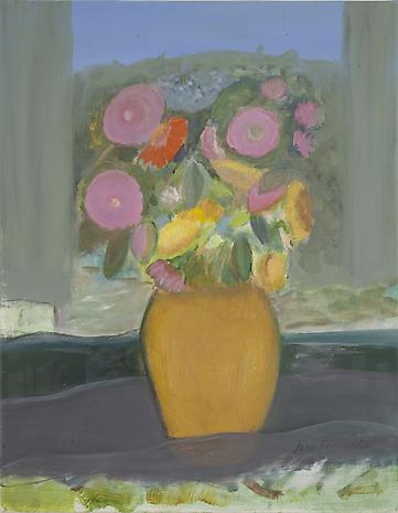 Mixed Flowers 2011 oil on linen 18 x 14 inches