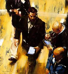 Ben Aronson exhibition reviewed by Donald Kuspit