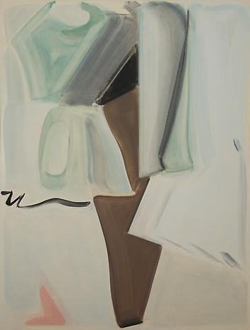 Armless Sleeve 2010 oil on canvas 66 x 50 inches
