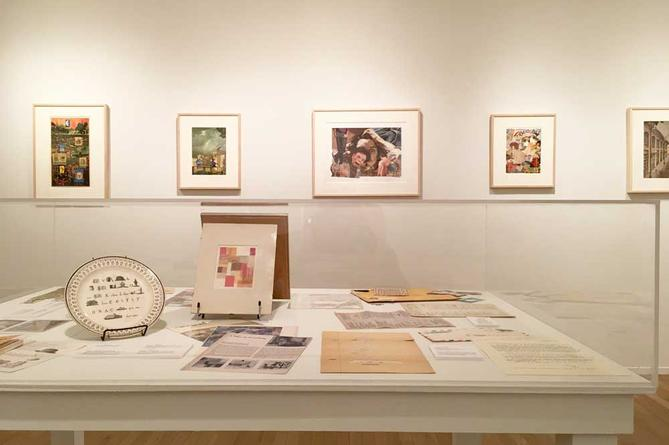 John Ashbery New Collages  December 15, 2016 - January 28, 2017