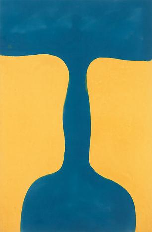 Paul Feeley Trajan 1960 oil-based enamel on canvas 69 x 46 inches