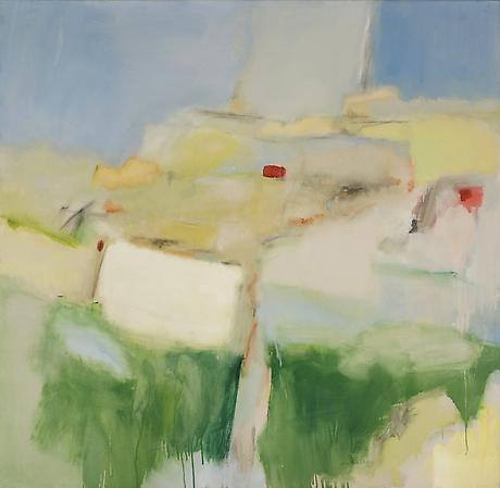 Jane Freilicher Untitled Abstraction c.1960 oil on canvas 49 x 50 inches