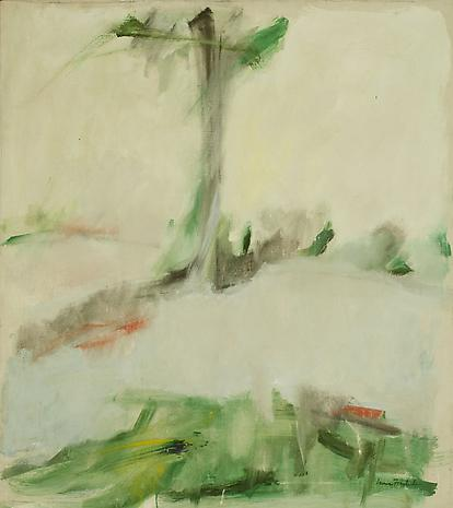 Flying Point Road 1959 oil on linen 31 x 28 inches