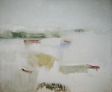 Henry Ford's Dunes 1961 oil on canvas 25 x 30 inches Private Collection