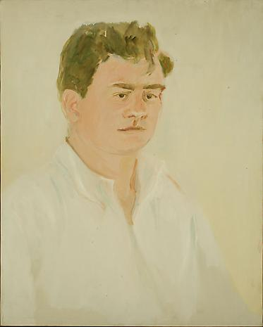 Jimmy Schuyler 1965 oil on canvas 30 x 24 inches