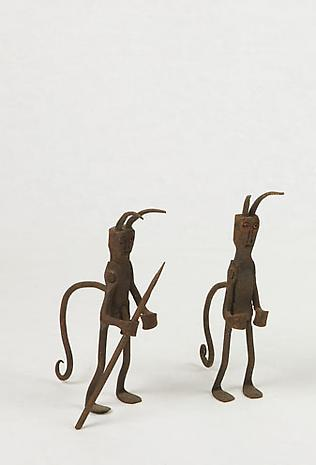 Two Brazilian iron sculptures SOLD