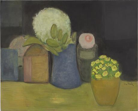 Bouquets 2011 oil on linen 16 x 20 inches SOLD