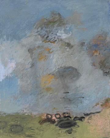 Roelough, Winter 1990 oil on canvas 30 x 24 inches