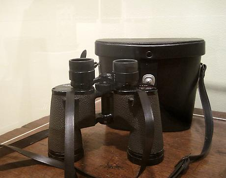 Elizabeth Bishop's Abercrombie and Fitch binoculars SOLD
