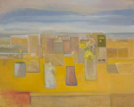 Yellow 2009 oil on linen 32 x40 inches SOLD