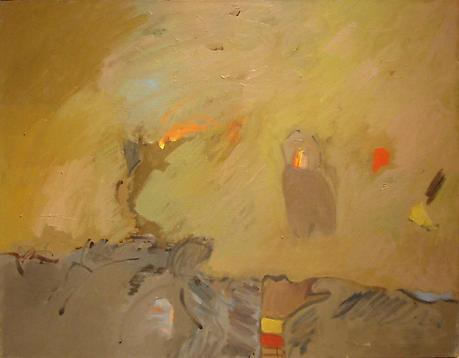 Shuddup! 1982 oil on canvas 24 x 30 inches