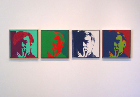 ANDY WARHOL Self-Portraits 1963 - 1986 5