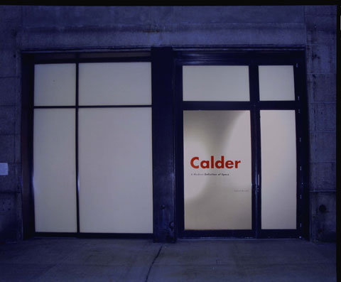 A MODERN DEFINITION OF SPACE: CALDER 1