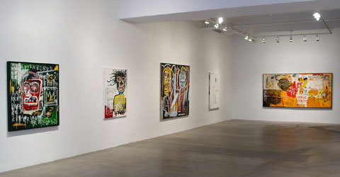 "BASQUIAT ""HEADS"" 2"