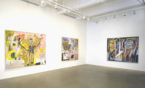 "BASQUIAT ""HEADS"" 5"
