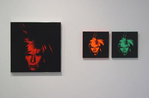 ANDY WARHOL Self-Portraits 1963 - 1986 4