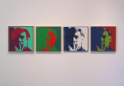 ANDY WARHOL Self-Portraits 1963 - 1986