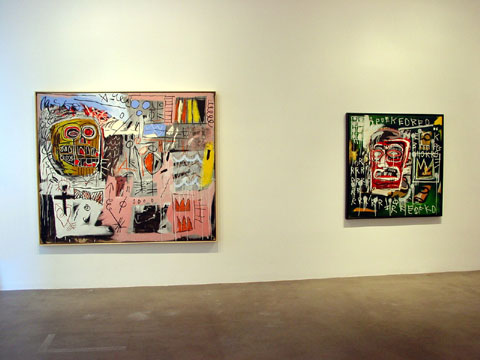 "BASQUIAT ""HEADS"" 1"