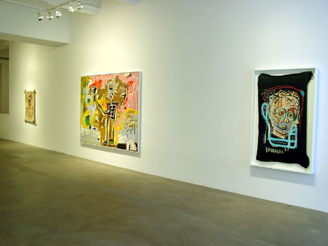 "BASQUIAT ""HEADS"" 3"