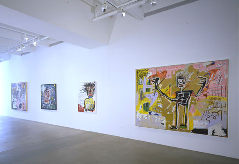 "BASQUIAT ""HEADS"" 4"
