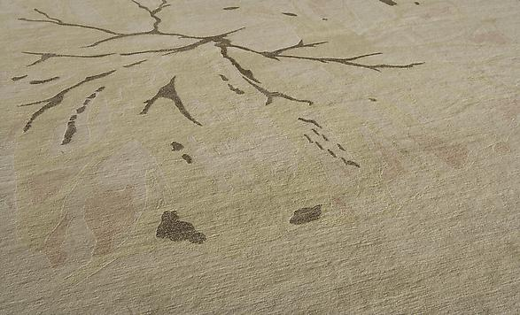 Himalayan wool and silk Available in 9' x 12'   Made to custom sizes and colors #2