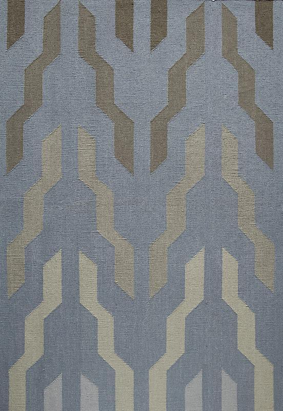 Cotton Dhurrie 554 Lavender #1