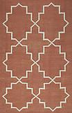 Cotton Dhurrie 559 Terracotta