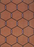 Cotton Dhurrie 562 Terracotta