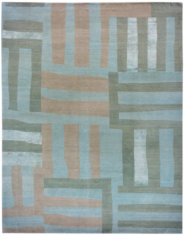 Stripes  Aqua #1